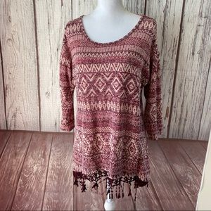 Absolutely famous lightweight sweater size Large